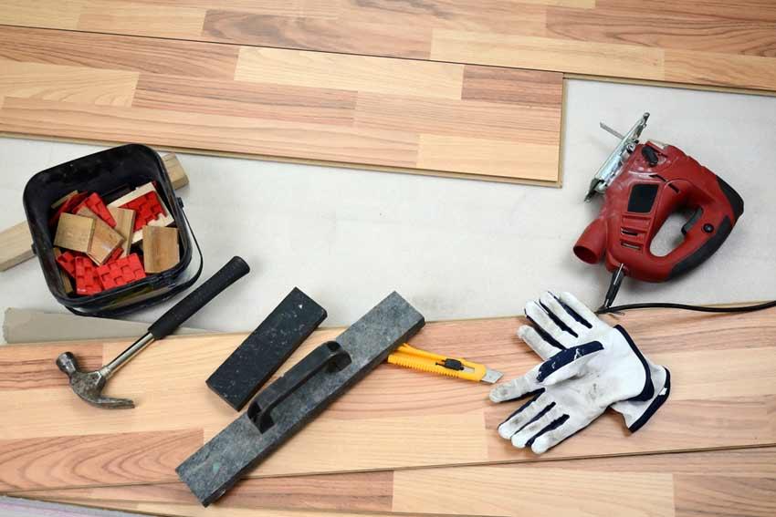 goda förberedelser är viktigt när man ska lägga golv